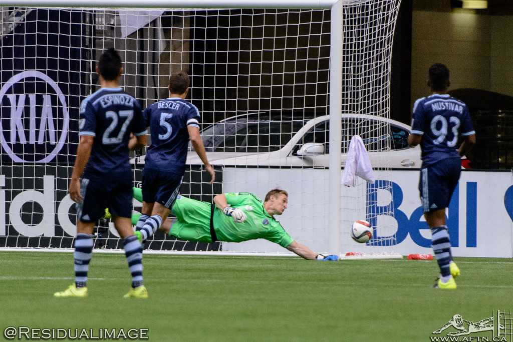 Vancouver Whitecaps v Sporting Kansas City - The Story In Pictures (29)