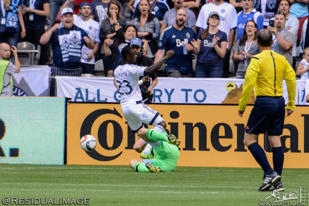 Vancouver Whitecaps v Sporting Kansas City - The Story In Pictures (36)
