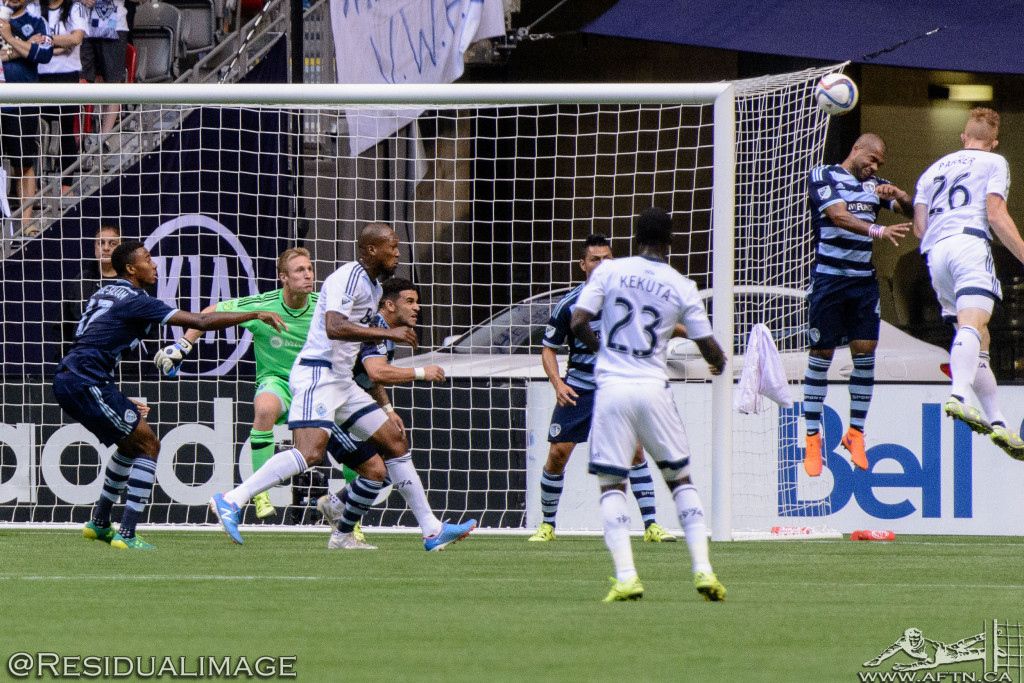 Vancouver Whitecaps v Sporting Kansas City - The Story In Pictures (40)