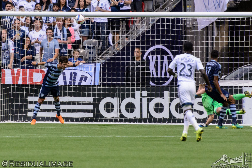 Vancouver Whitecaps v Sporting Kansas City - The Story In Pictures (42)