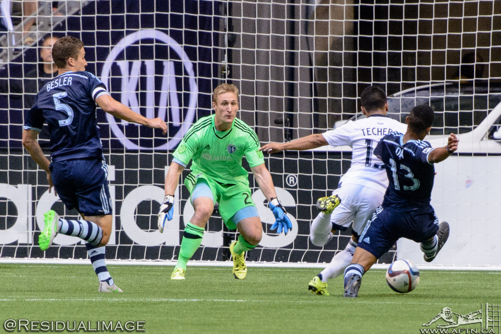 Vancouver Whitecaps v Sporting Kansas City - The Story In Pictures (46)