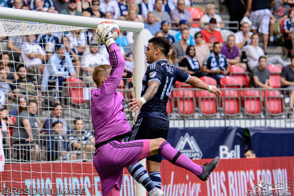 Vancouver Whitecaps v Sporting Kansas City - The Story In Pictures (56)