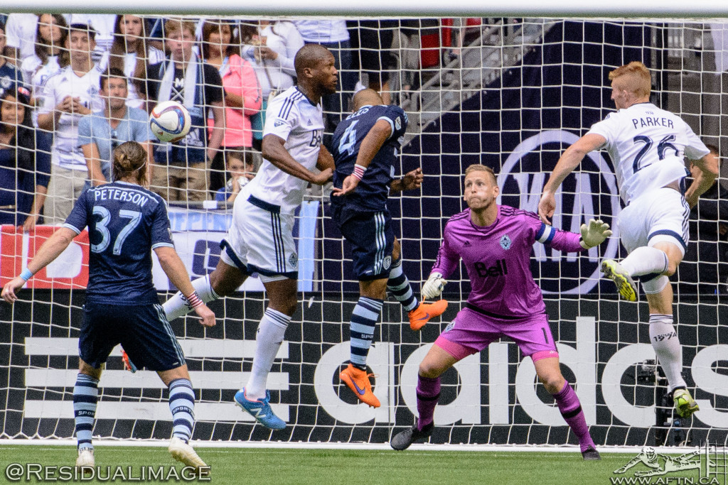 Vancouver Whitecaps v Sporting Kansas City - The Story In Pictures (90)