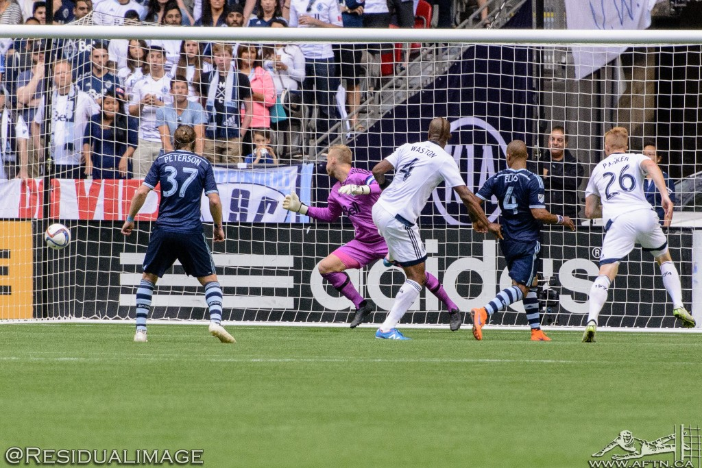 Vancouver Whitecaps v Sporting Kansas City - The Story In Pictures (92)