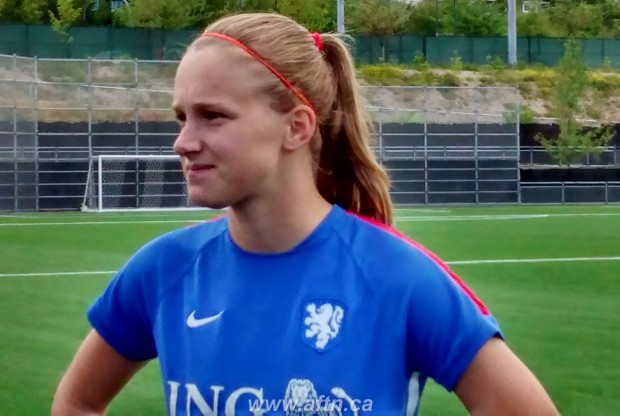 Dutch starlet Vivianne Miedema hoping to shock the World Champions and be an inspiration to young girls back home