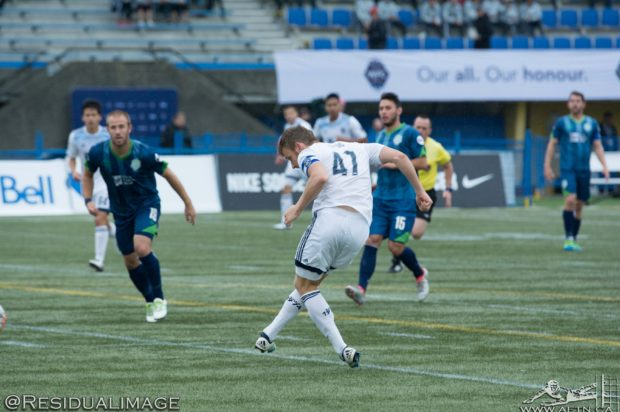 "Kyle Greig's goal against former team ""icing on the cake"" as he returns to another USL Western Conference final"