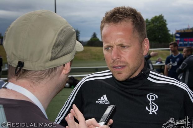 "Marc Dos Santos relishing ""different"" challenges of Swope Park Rangers but proud of the Ottawa Fury foundations he left behind"
