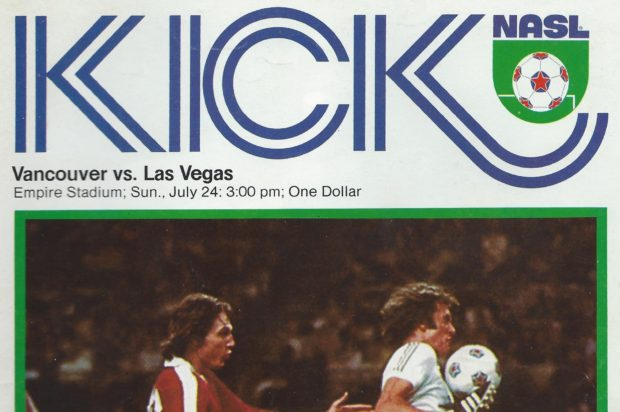 Get With The Program: Vancouver Whitecaps v Las Vegas Quicksilvers 1977