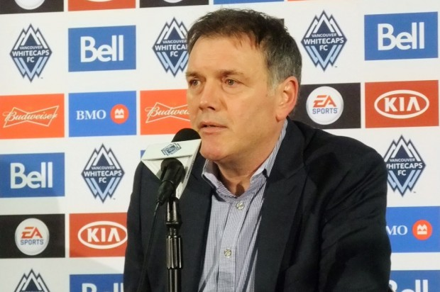 """Whitecaps' Bobby Lenarduzzi: """"We want to be known as a club that develops it's own players"""""""