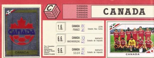 Found In The Attic: #3 – Mexico 86 Panini sticker album