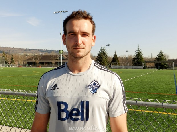 "Tyler Rosenlund finally back in BC and looking to bring ""leadership and expertise"" to young WFC2 squad"