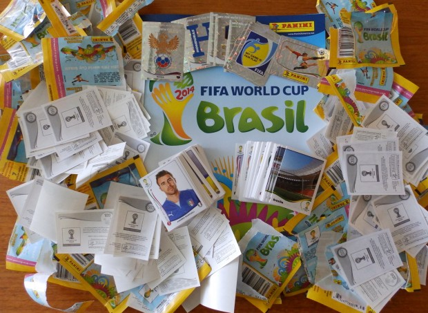 Get Stuck In! – Panini World Cup sticker frenzy