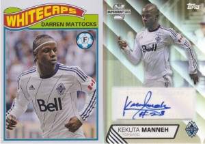 Whitecaps Topps Cards