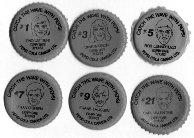 Found In The Attic: #1 – Whitecaps Pepsi cap liners