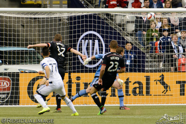 Report and Reaction: Ten man Whitecaps' home woes continue in loss to DC United