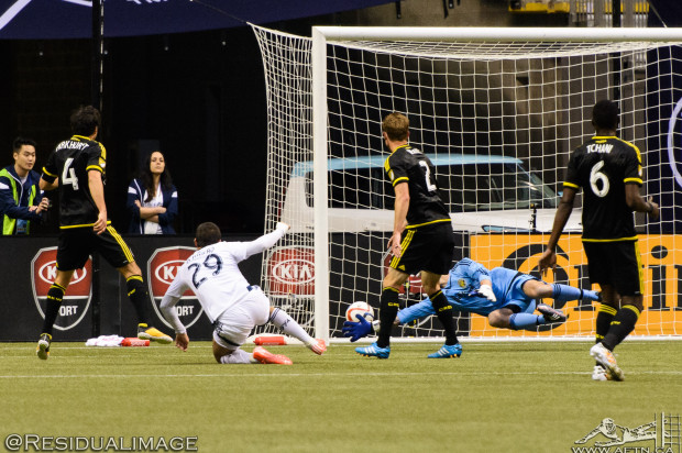 Vancouver Whitecaps v Columbus Crew – The Story In Pictures