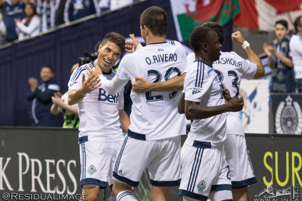 Vancouver Whitecaps v LA Galaxy – The Story In Pictures