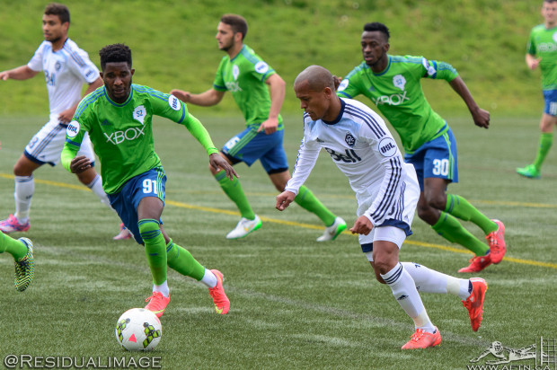 Vancouver Whitecaps 2 v Seattle Sounders 2  – The Story In Pictures