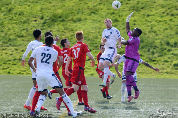 How will Vancouver Whitecaps use their non MLS starters in home double header weekends?
