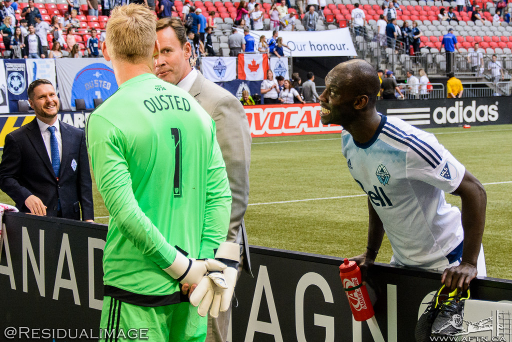 Vancouver Whitecaps v Philadelphia Union - The Story In Pictures (122)