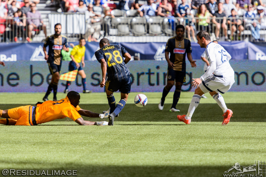 Vancouver Whitecaps v Philadelphia Union - The Story In Pictures (42)