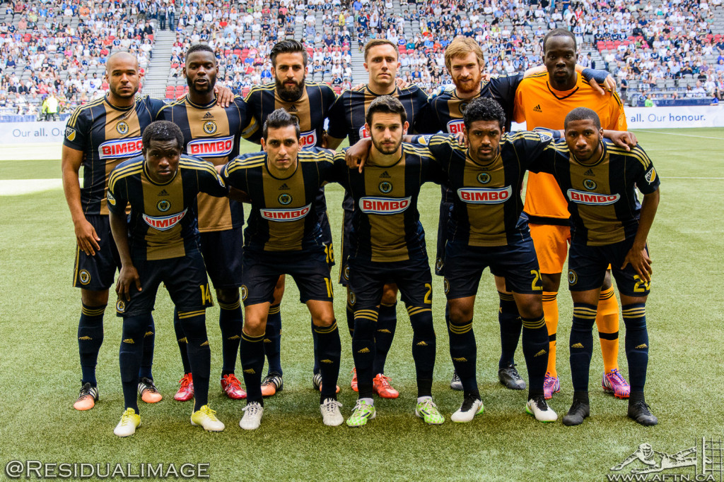 Vancouver Whitecaps v Philadelphia Union - The Story In Pictures (9)