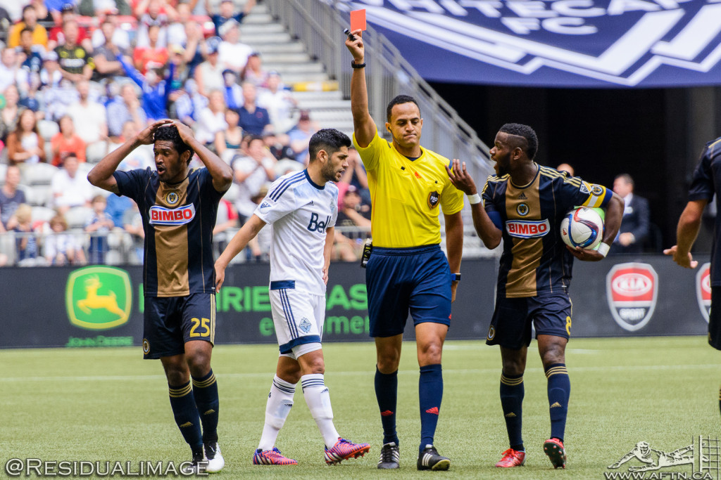 Vancouver Whitecaps v Philadelphia Union - The Story In Pictures (98)