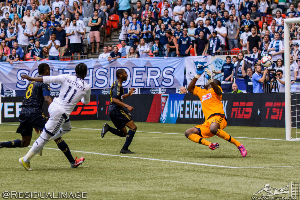Vancouver Whitecaps v Philadelphia Union - The Story In Pictures (99)