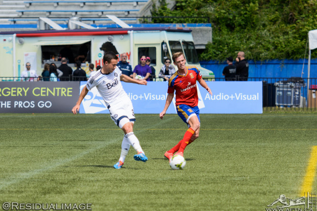 """After bagging first pro goal, Ben McKendry """"knocking on the door"""" for MLS minutes"""