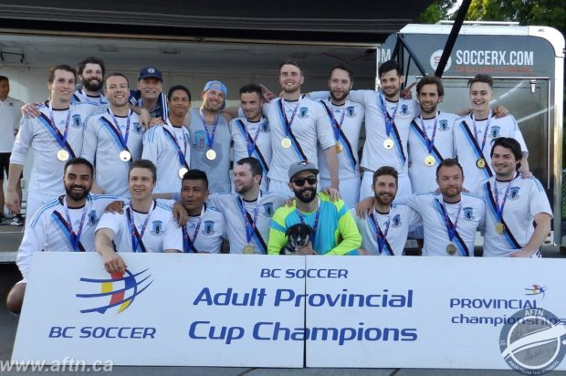 Vancouver Strikers knock off four league champions to win BC Provincial B Cup (plus U21 and Masters round-up including videos and photo galleries)