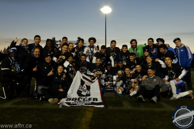 Montreal Carabins get revenge over Cape Breton to lift first ever U SPORTS Men's Soccer Championship