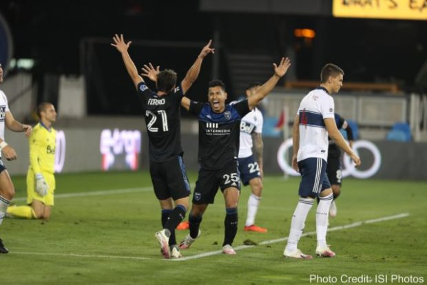 """Report and Reaction: Nein! Nine man Whitecaps """"not in a dark place"""" but supporters are struggling to see the light after three goal loss in San Jose"""