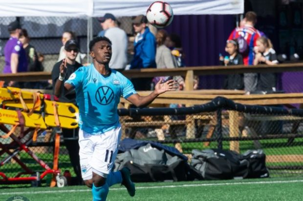 "Akeem Garcia having dream season with HFX Wanderers as he ""aims for the heights"" and for both team and personal glory"