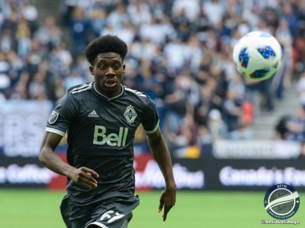 "Try and rough him up if you want, but Alphonso Davies ""not worried"" by tough tackling opponents and his Whitecaps teammates have his back"