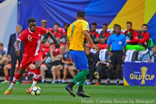 "Zambrano feels ""the sky's the limit"" for Alphonso Davies as Canada raves about their new difference maker following his two goal haul"
