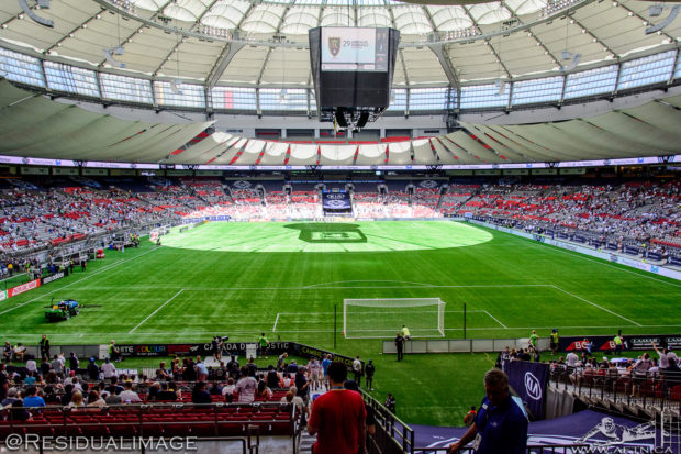 BC Place is no place like home for Vancouver Whitecaps