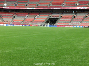 BC Place new turf pitch