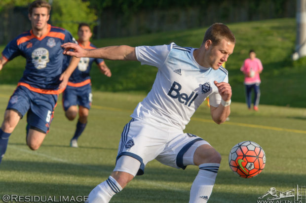 """Brett Levis hoping to use first team experiences to help guide WFC2 to USL playoff success: """"I love this team, I love playing for them"""""""