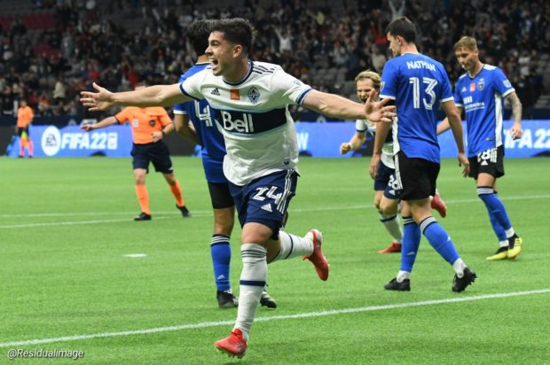 Report and Reaction: Hat-trick hero makes it all White on the night for Vancouver as they see off San Jose to boost playoff hopes