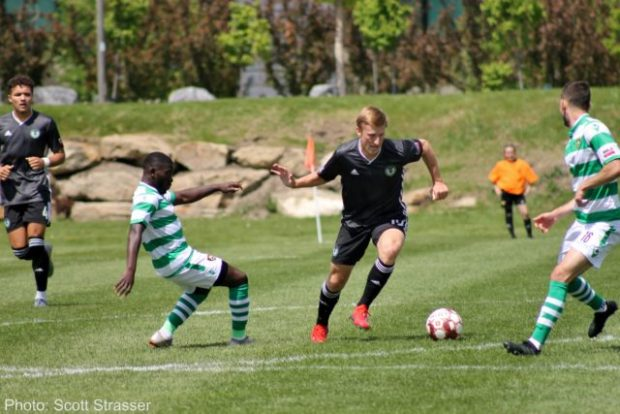 Foothills FC split weekend series with Seattle Sounders to remain atop USL2 northwest standings