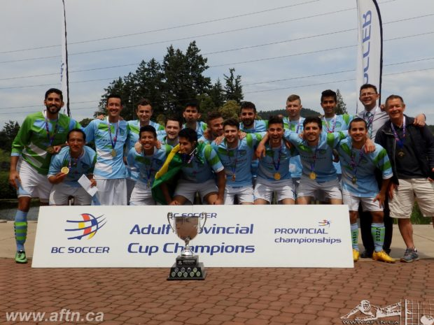 Quick fire Campo Atletico win their second BC Provincial B Cup title
