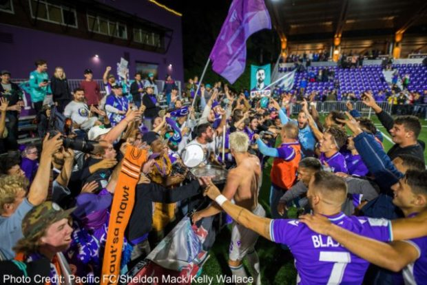 """Pa-Modou Kah in no doubt Pacific FC deserve to host Toronto in Canadian Championship semi-final """"if you want to promote Canadian soccer"""""""
