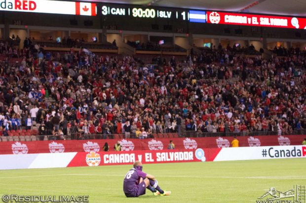 Canada v El Salvador – A World Cup hopes ending Story in Pictures