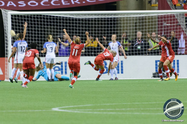 Canada WNT v USA – The Story In Pictures