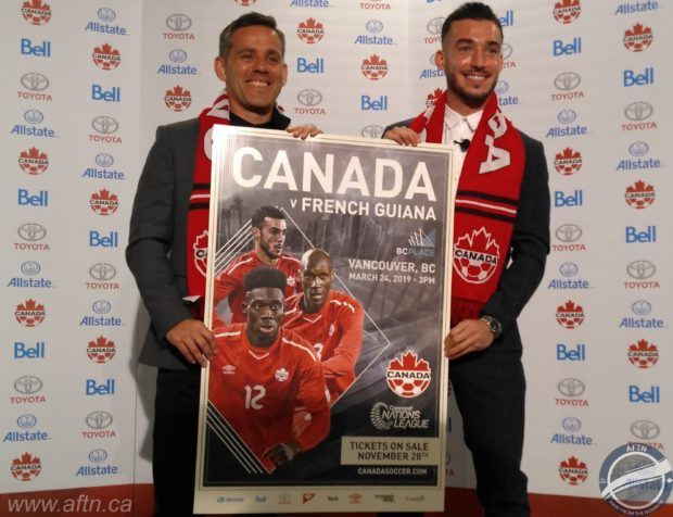 """Vancouver back as Canadian men's national team home for """"bloody big match"""" against French Guiana, with more matches set to follow"""