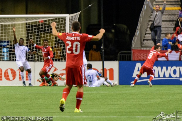 Canada v Honduras – The Story In Pictures