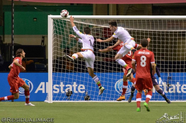 Canada v Mexico – The Story In Pictures
