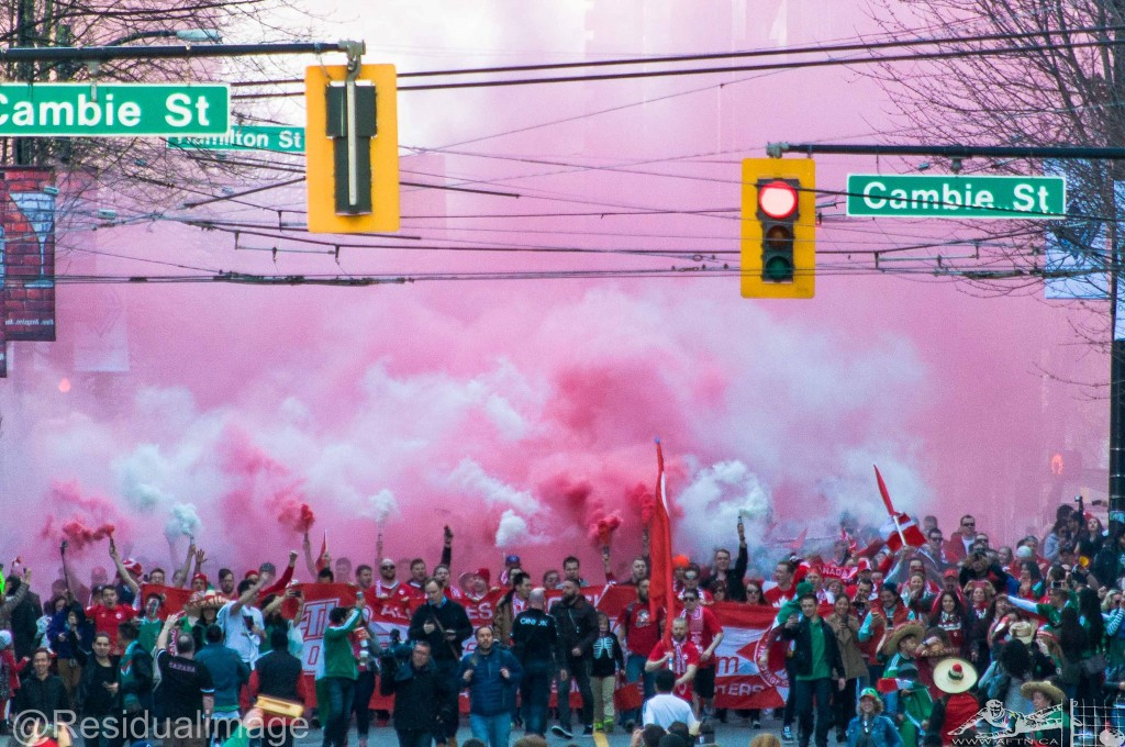 Canada v Mexico - The Story In Pictures (1a)
