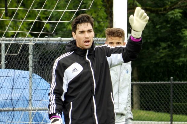 Ten Count with Vancouver Whitecaps U18 goalkeeper Aidan Aylward