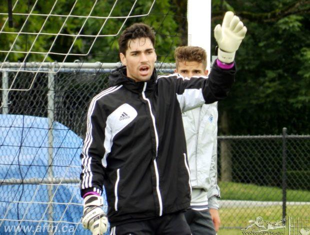 Ten Count with Vancouver Whitecaps U18 goalkeeper Aidan Aylward
